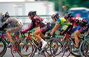 Annette Beutler (Lietzsport), Lynn Gaggioli (T-Mobile), Karen Bockel (TDS Schwalbe), and Kimberly Bruckner (T-Mobile)