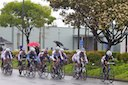 Kristen LaSasso (TIBCO) leads group containing Olivia Dillon (Peanut Butter & CO) and Mary Ellen Ash (Los Gatos)