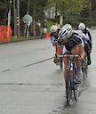 Alison Starnes (TIBCO) leading late in race