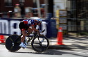 Levi Leipheimer (USA) makes turn during 2nd lap - 14:22 EDT