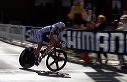 Sylvain Chavanel (FRA) turns off Claremont - 14:58 EDT