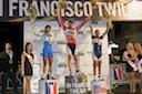 Ricardo Escuela (Successful Living), Daniel Ramsey (Time Pro Cycling) and Jorge Alvarado (Kahala/LaGrange)
