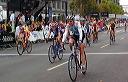 Linda Jackson (Palo Alto Bicycles) Finishes - 9:31 AM