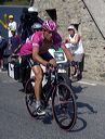 Jan Ullrich (T-Mobile) on final climb.