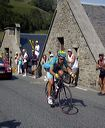 Alexandre Vinokourov (T-Mobile) with 5 km to go.