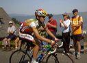 David Arroyo (Illes Balears) with 5 km to go.