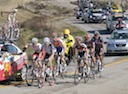 Jeffry Louder (BMC), Matthew Crane (Jelly Belly), Pieter Weening (Rabobank), Cameron Evans (Team OUCH),  Glen Chadwick (Rock Racing) and Curtis Gunn (Fly V Australia) on the way to Paso Robles