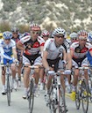 Hubert Dupont (AG2R), Karl Menzies (Team OUCH), Alexandre Moos (BMC) and Tim Johnson (Team OUCH)