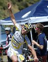 Mark Cavendish (HTC-Columbia) relegated to cheerleader after missing time cut in Big Bear Lake