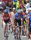 Carlos Barredo (Quick Step) and Thomas Rabou (Team Type 1)
